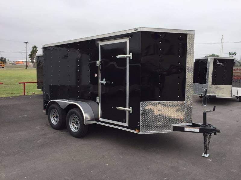 2019 Deep South 6 x 12 Tandem Axle Enclosed Cargo Trailer