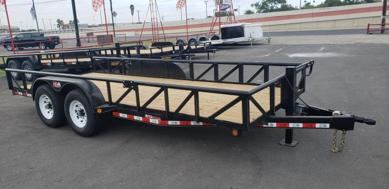 2021 GR Trailers 20 BIG PIPE Utility Trailer