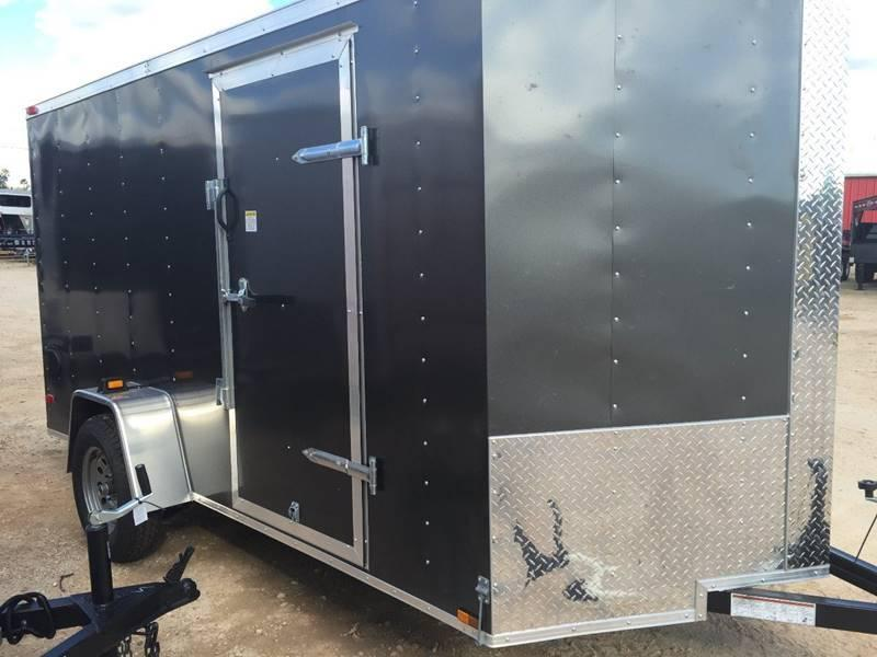2019 Deep South 6 x 12 Single Axle Enclosed Cargo Trailer