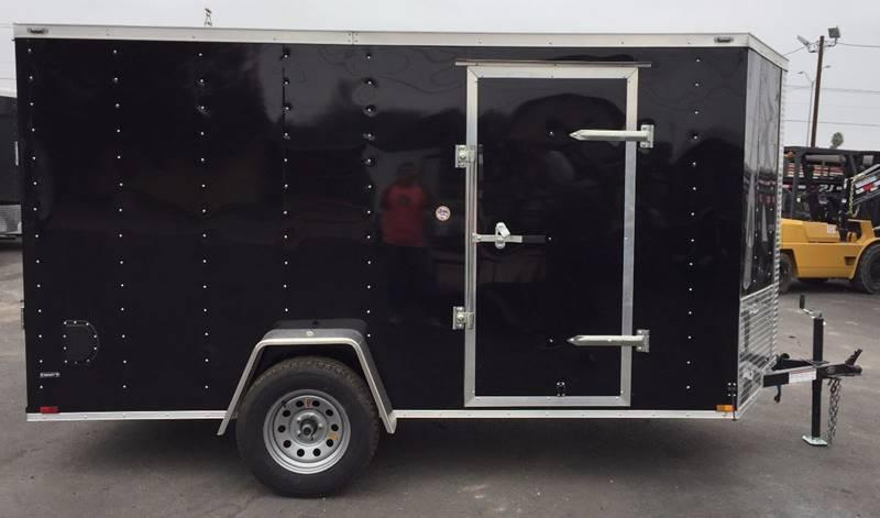 2021 Deep South 6 x 12 Single Axle Enclosed Cargo Trailer