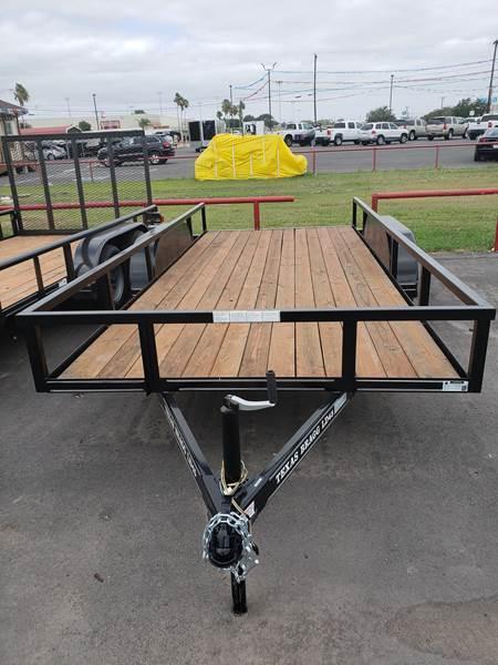 2021 Texas Bragg LD 16' Tandem Axle Utility Trailer