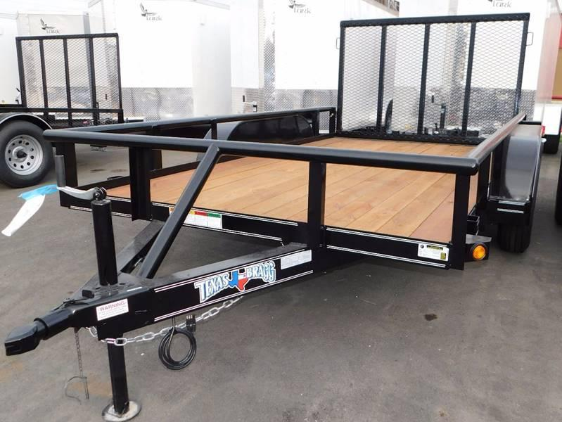 2020  6 x 12 Single Axle Pipetop Utility Trailer