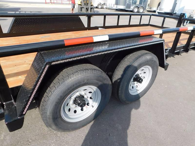 2021 Texas Bragg 20' Big Pipe Utility Trailer