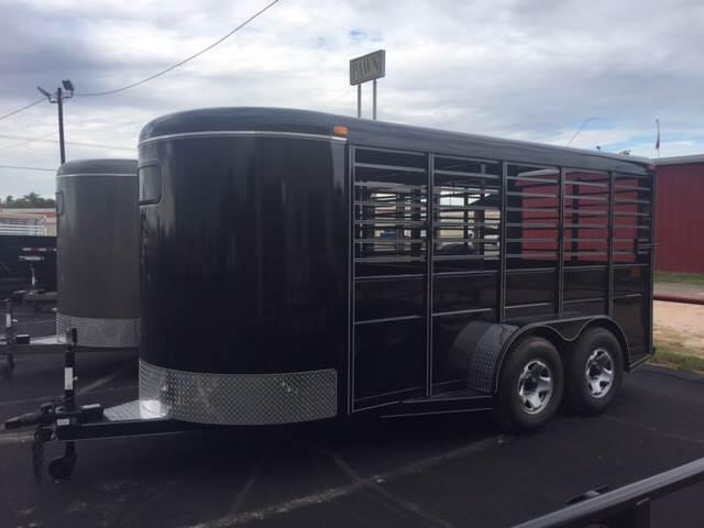 2019 Calico 16' Stock Trailer