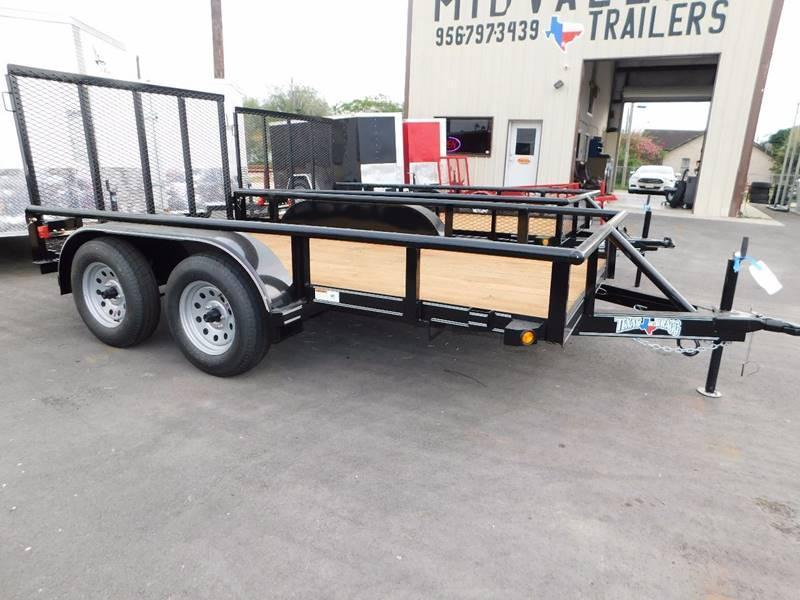 2021 Texas Bragg 6 x 12 Tandem Axle Utility Trailer