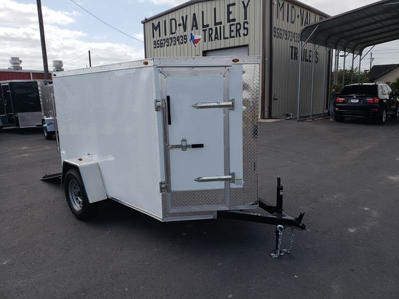 2021 Deep South 5 x 8 Single Axle Enclosed Cargo Trailer