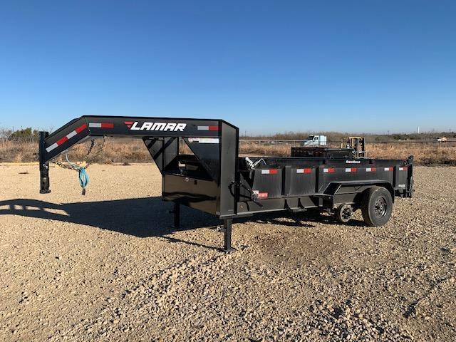 """93379 83"""" x 14' Lamar Low-Pro GN Dump 14k"""