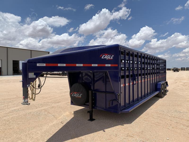 "2021 Maxxim Industries 28' x 6' 8"" Livestock Trailer"