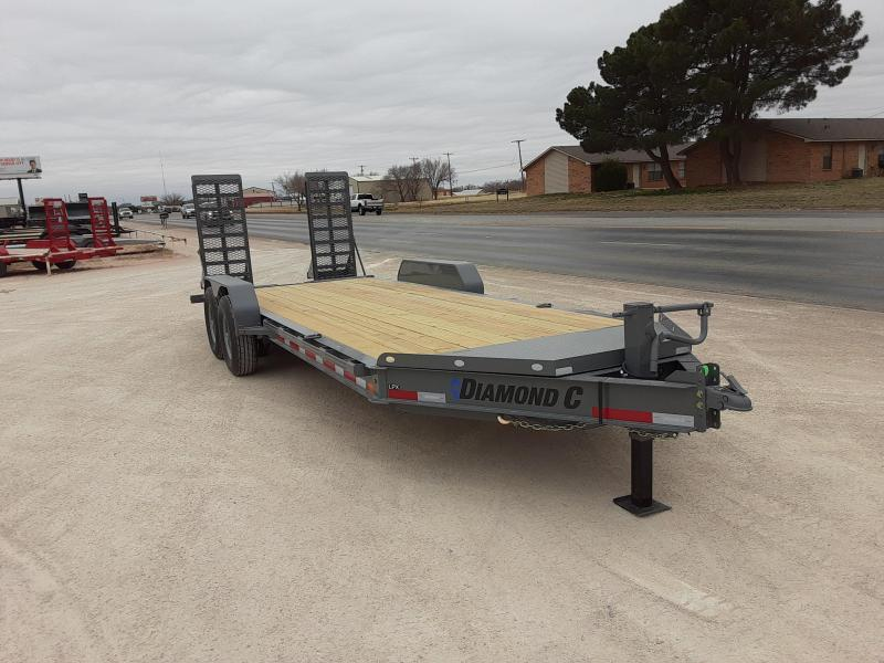 2020 Diamond C Trailers 20X82 LOW PROFILE Equipment Trailer