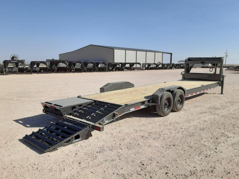 2021 Diamond C Trailers 30x80 Equipment Trailer