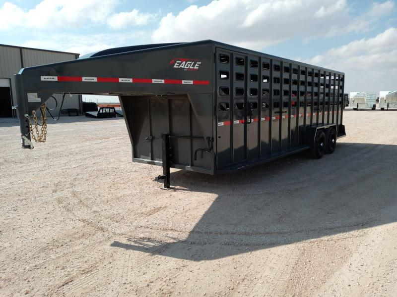 "2021 Maxxim Industries 24' X 6' 8"" Livestock Trailer"