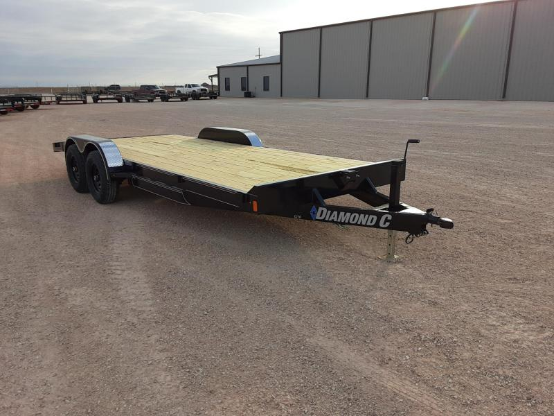 2020 Diamond C Trailers 20X82 GENERAL TANDEM Flatbed Trailer