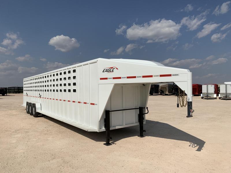 "2022 Maxxim Industries 40' x 6' 8"" Livestock Trailer"