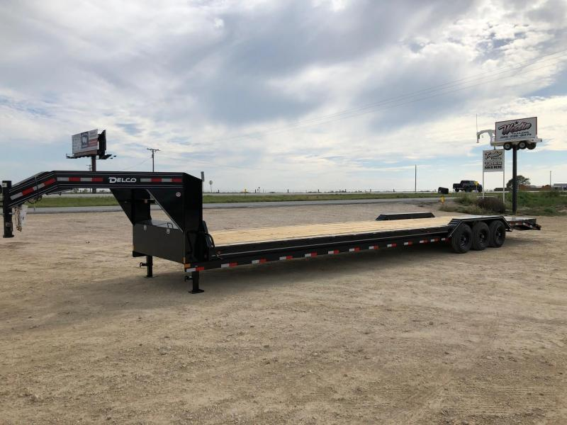 2021 Delco Trailers 102x40 Equipment Trailer