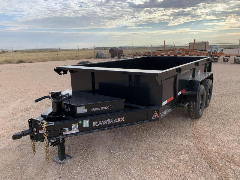 2021 RawMaxx 83x12 Dump Trailer