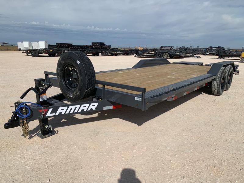 "2021 Lamar 102"" x 22' Equipment Trailer"