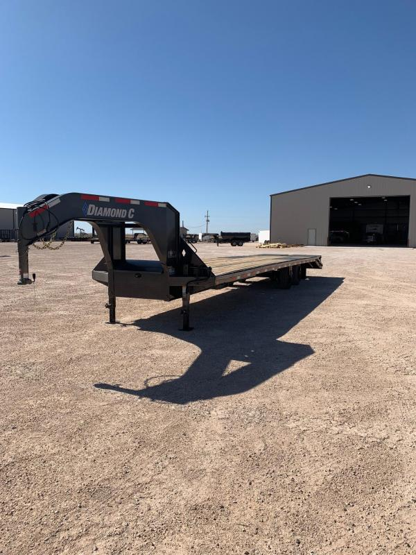 "2020 Diamond C Trailers 102"" x 35' Flatbed Trailer"