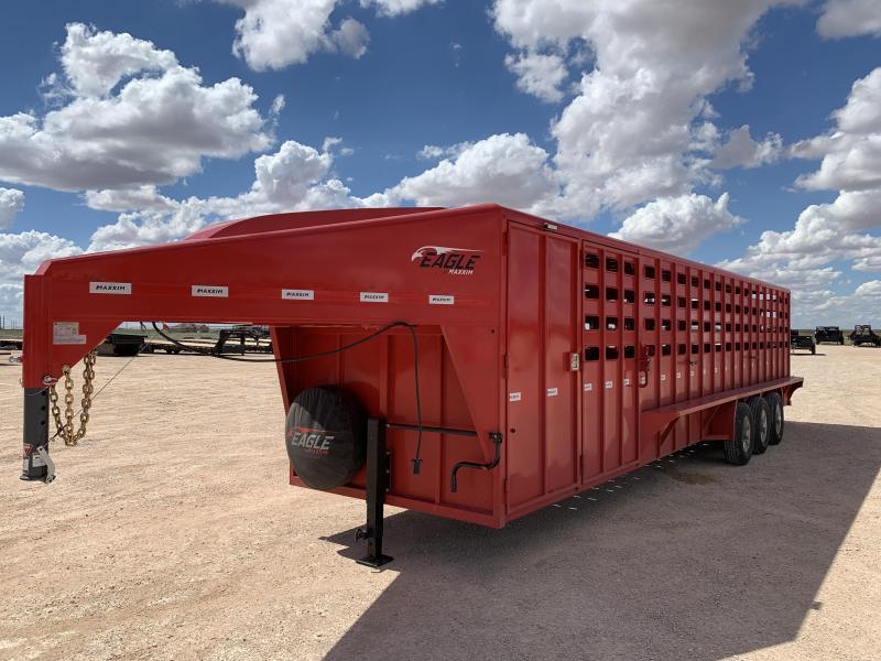 "84177 2022 32' x 6' 8"" MXM Livestock Trailer"