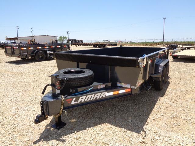 2021 Lamar Trailers DL 83X14 14K Dump Trailer