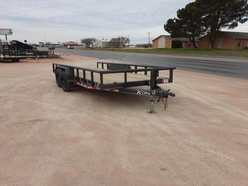 2020 X-On 83 X 18 CARHAULER 10K Car / Racing Trailer