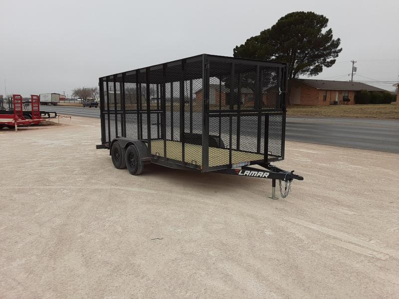 2021 Lamar Trailers 77x16 Trash Hauler 7k Trailer