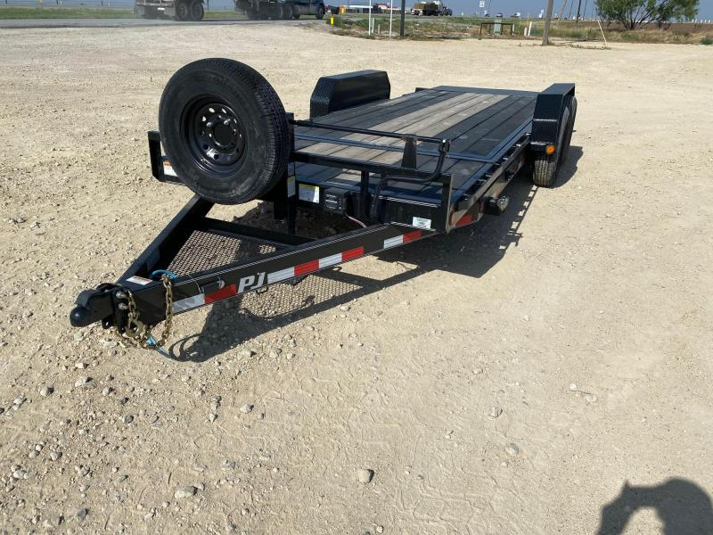 "2020 PJ 83"" x 20' Equipment Trailer"