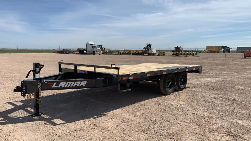 2020 Lamar Trailers 102x16 Deck Over 14k Trailer