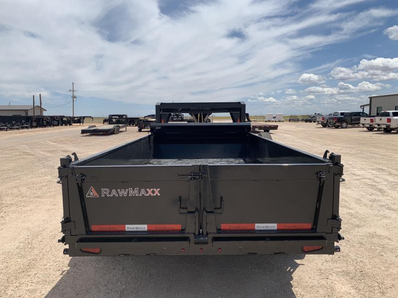 """2022 RawMaxx 83"""" x 14' Dump Trailer"""