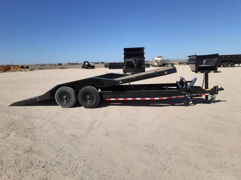 2020 Iron Bull 20' Tilt Equipment Trailer