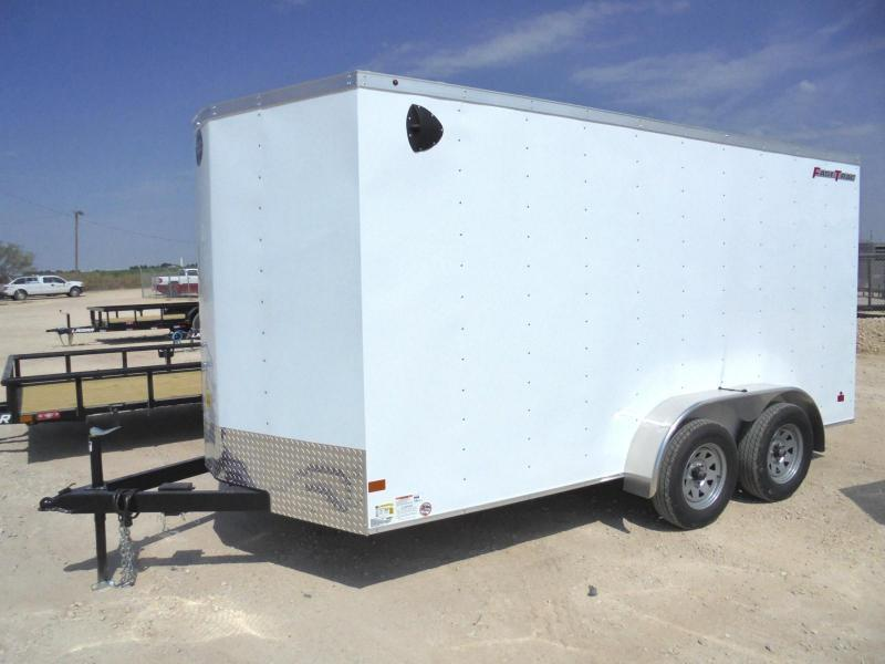 2020 Wells Cargo FT 7X14 7K Enclosed Cargo Trailer
