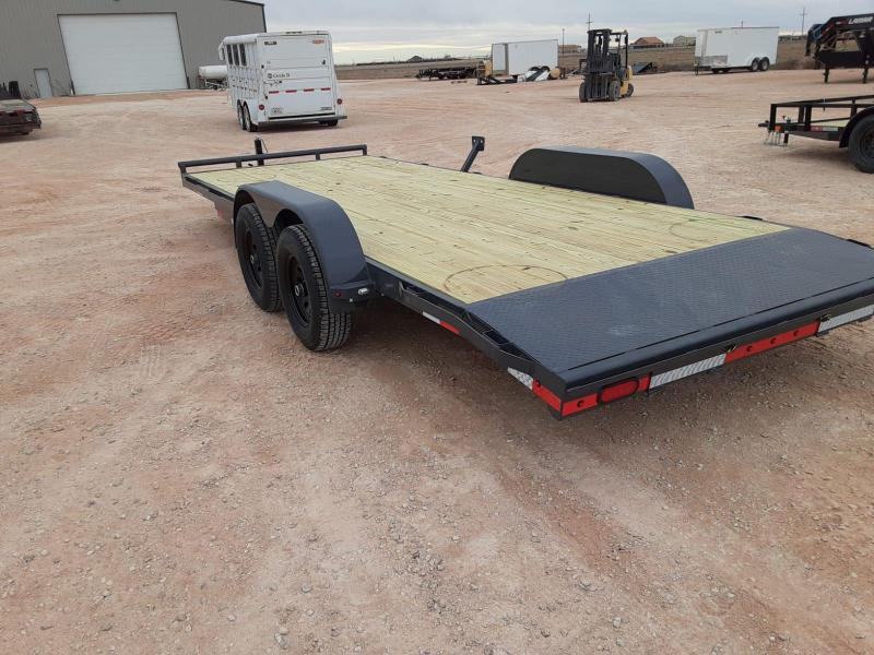 2021 Lamar Trailers 83x20 Car hauler Utility Trailer