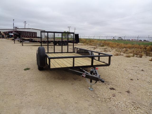 2021 ICON 83X12 7K W/ 4FT GATE Utility Trailer