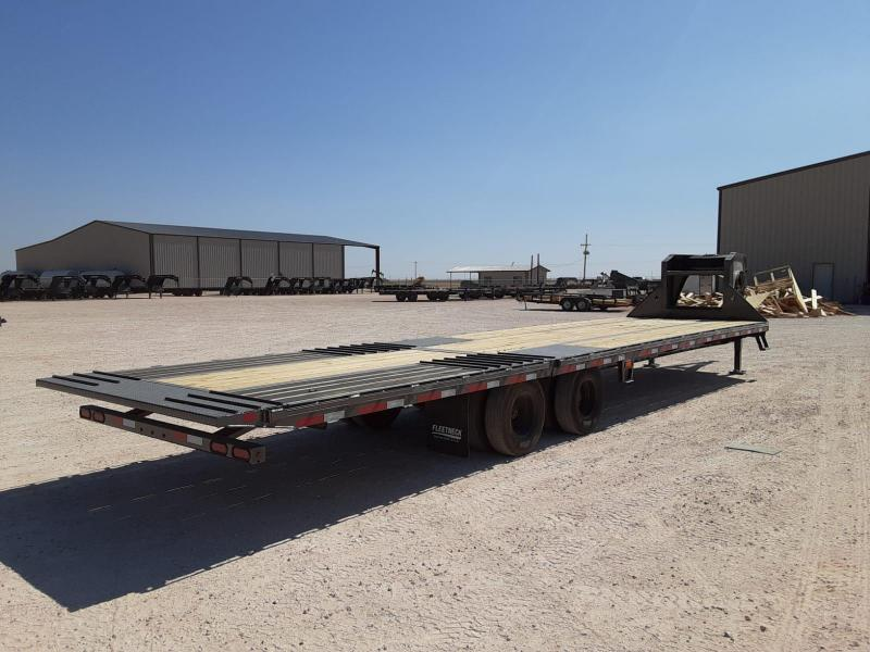 2021 Diamond C Trailers 35x102 GN Flatbed Trailer