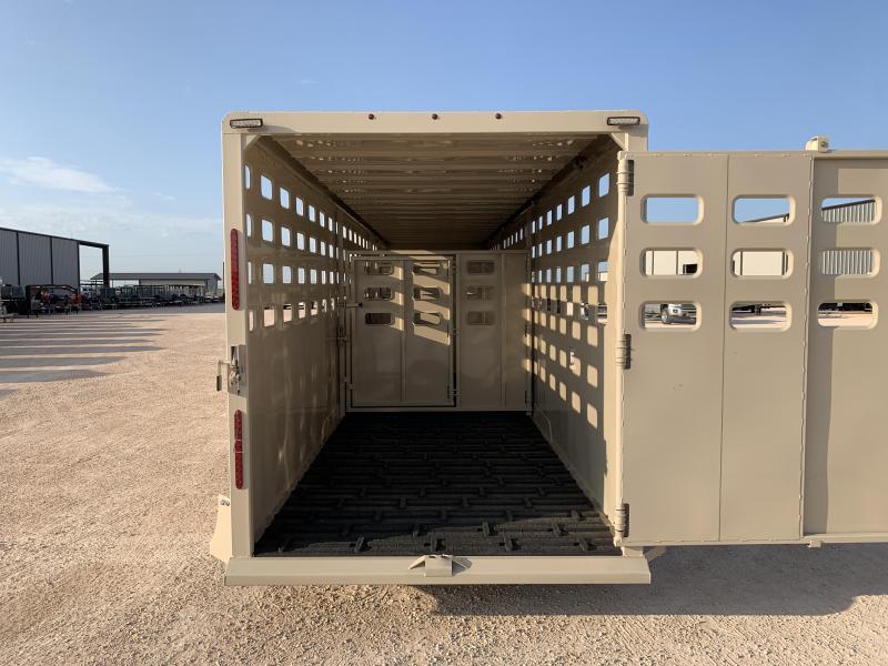 "2022 Maxxim Industries 32' x 6' 8"" Livestock Trailer"