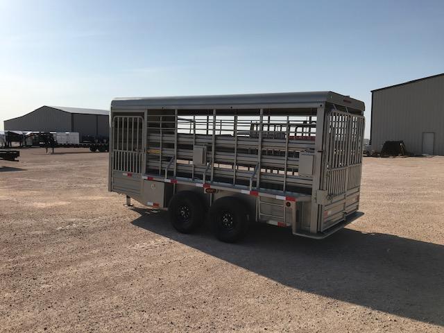 "2021 Other 76"" x 16' Livestock Trailer"