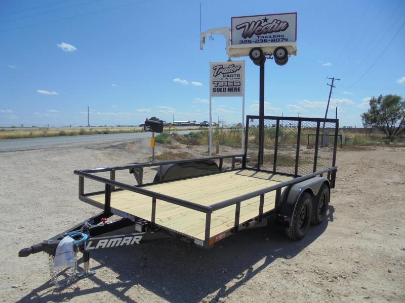 2020 Lamar Trailers UT 83X14 7K ATV Utility Trailer