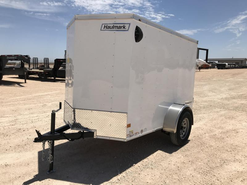 2021 Haulmark 5' x 8' Enclosed Cargo Trailer