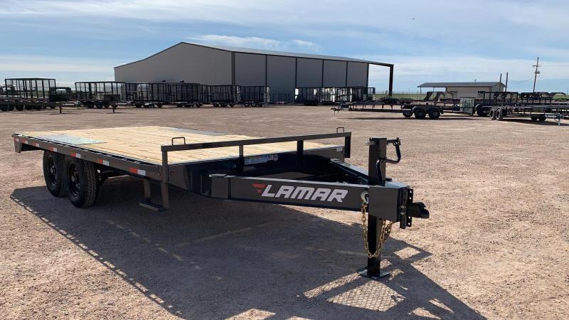 2020 Lamar Trailers Medium Deck-Over (F8) 14K - 16K Flatbed Trailer