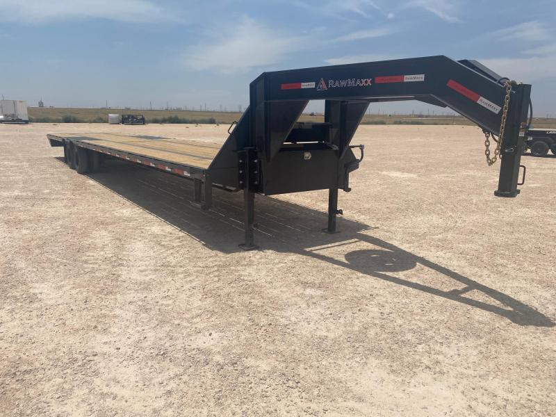 "2021 RawMaxx 102"" x 40' Gooseneck Equipment Trailer"