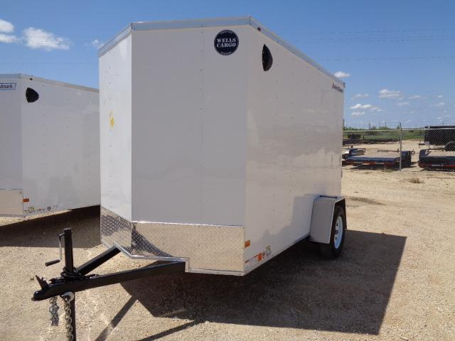 2021 Wells Cargo 6x10 3K Enclosed Cargo Trailer