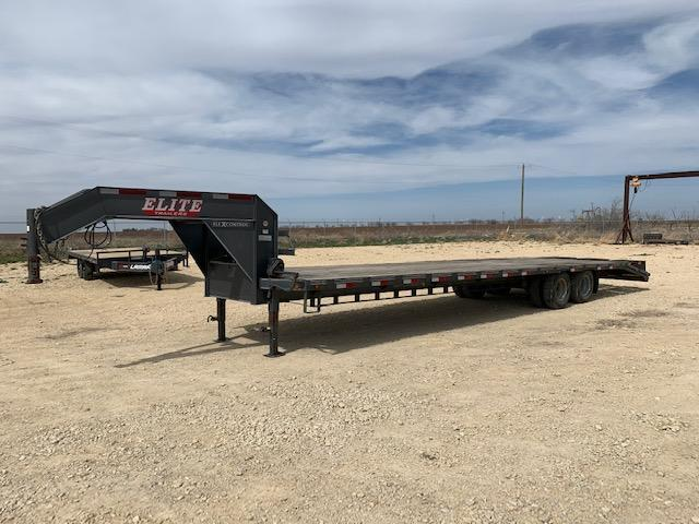 "2016 Elite Trailers 102"" x 35' Flatbed Trailer"