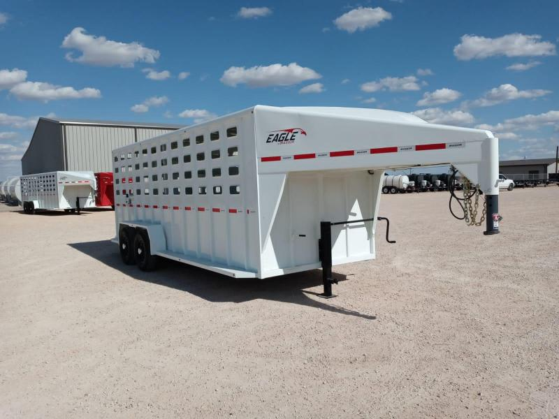 "2021 Maxxim Industries 20' X 6' 8"" Livestock Trailer"