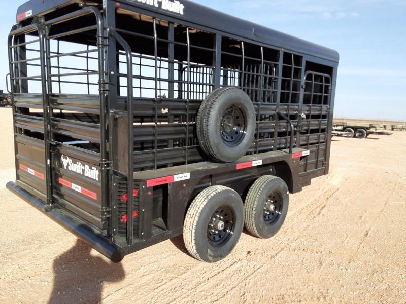 2021 Swift Built Trailers 16' Livestock Trailer