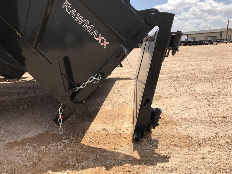 """2021 RawMaxx 77"""" x 12' Dump Trailer"""