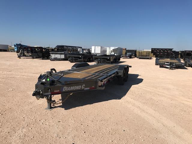 "2021 Diamond C Trailers 82"" x 20' Equipment Trailer"