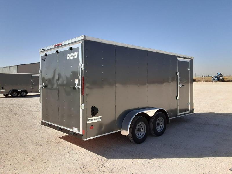 2021 Haulmark 7X16 Enclosed Cargo Trailer