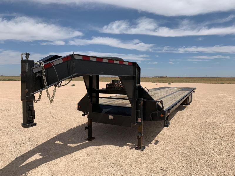 2016 Big Tex Trailers Extreme Duty Deck-Over (FD) Flatbed Trailer