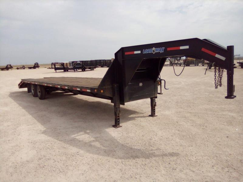 "2007 Load Max 102""x32' Equipment Trailer"