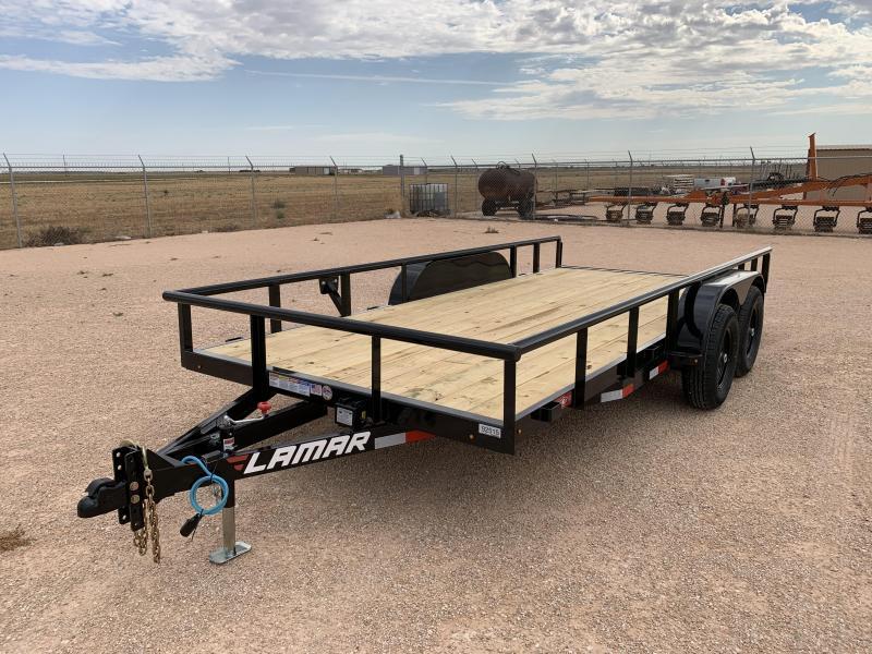 2021 Lamar Trailers 83x16 10k Utility Trailer