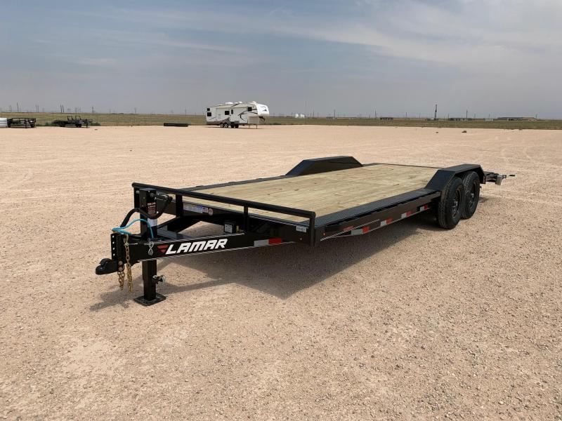 "2020 Lamar Trailers 102"" x 22' Equipment Trailer"